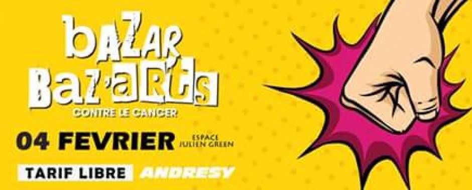 Bazar Baz'arts : un événement festif contre le cancer