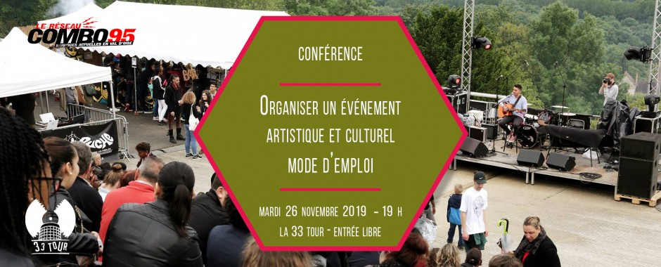 Organiser son event : mode d'emploi