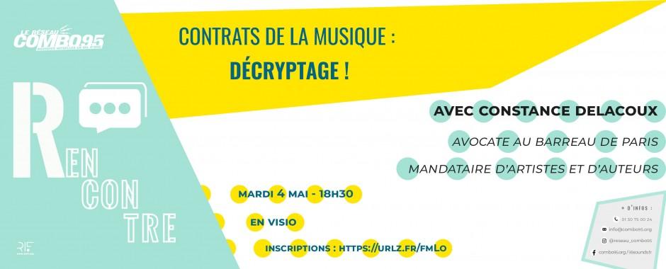 Rencontre les contrats de la musique : décryptage !
