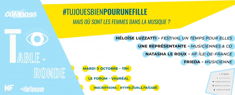 Table-ronde #Tujouesbienpourunefille