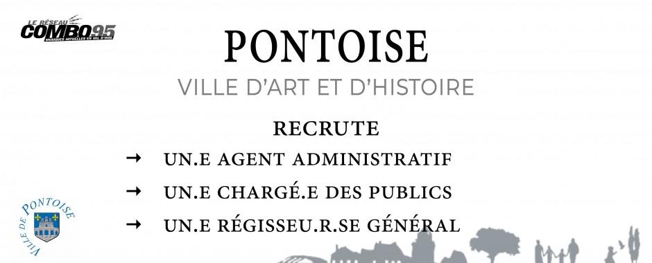 La Ville de Pontoise recrute