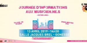 Journée d'informations aux musicien.ne.s