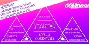 Candidatez à l'édition 2019 du dispositif STARTER !