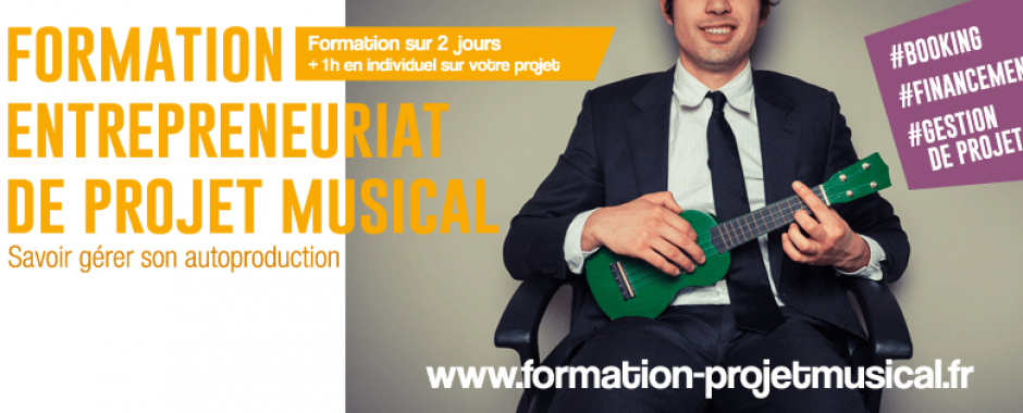 Formation Entrepreneuriat de Projet Musical