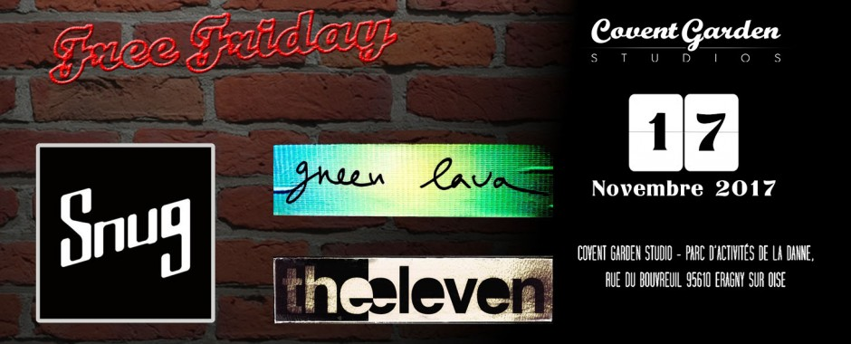 Free Friday : Snug - Green Lava - The Eleven