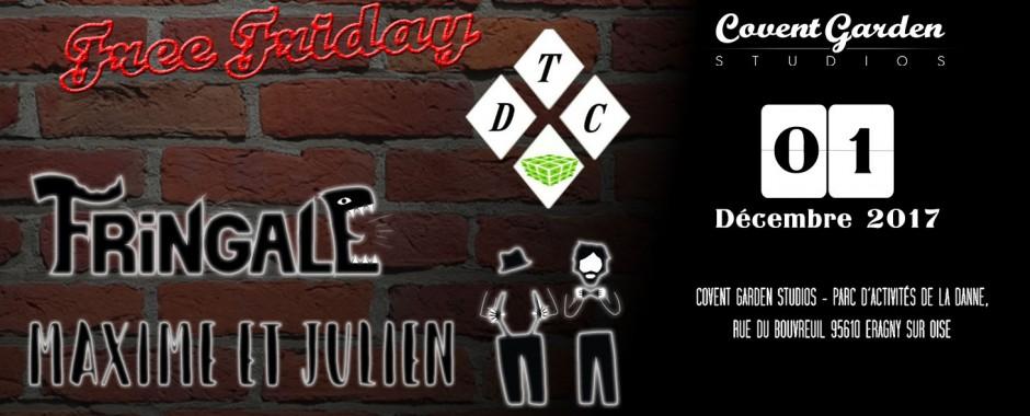 Free Friday : DTC - Fringale - Maxime et Julien