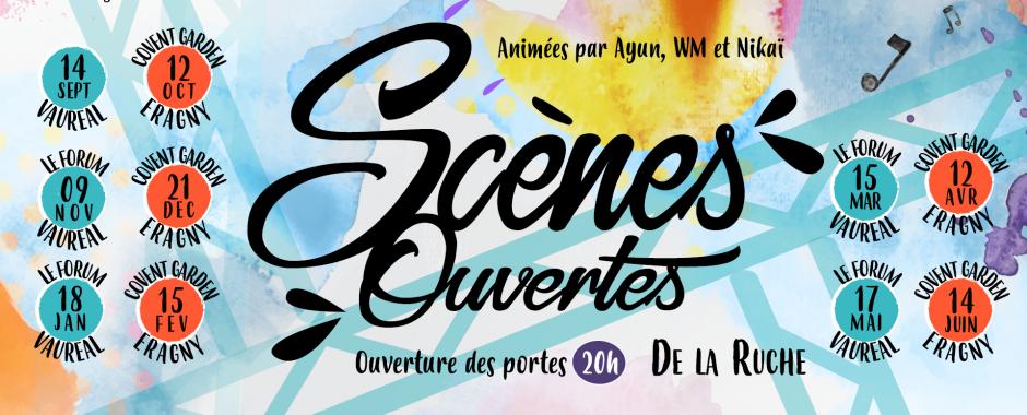 Scène Ouverte by La Ruche - Au Forum