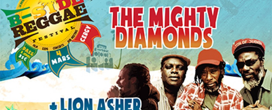 The Mighty Diamonds + Lion Asher Disciple - B SIDE REGGAE