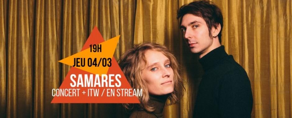 Samares - Stream + Interview