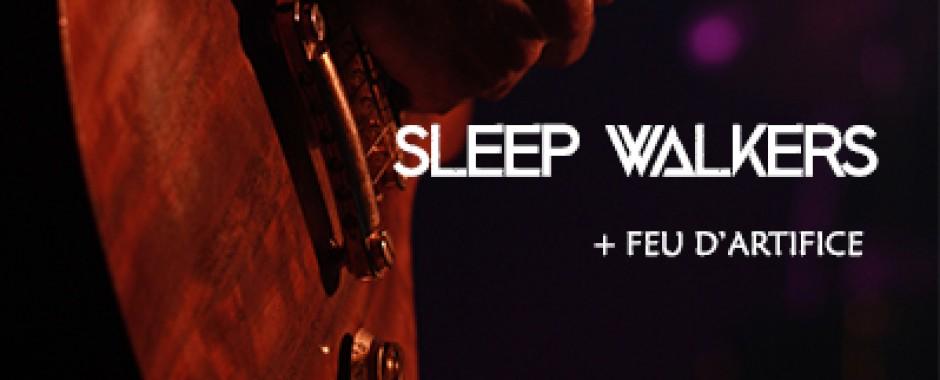 Feu d'artifice de Domont + Sleep Walkers
