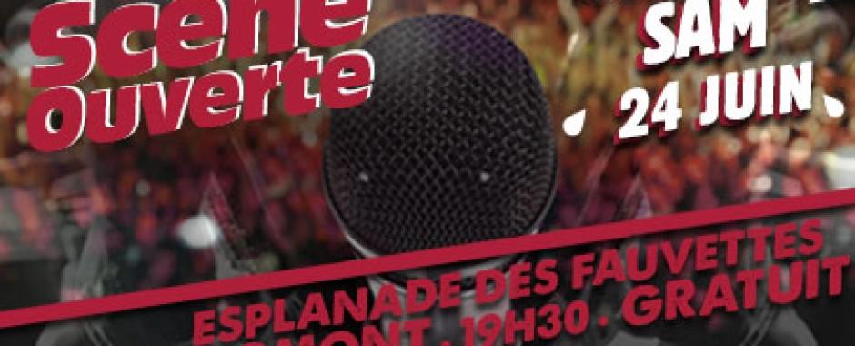Scène Ouverte - festival de l'Été - Domont