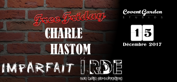 Free Friday : Charle Hastom - Imparfait - LRDE