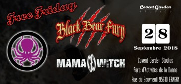 Free Friday : Black Bear Fury - MamaWitch - Octopus