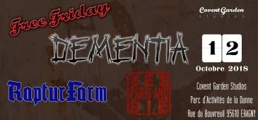 Free Friday : Dementia - RapturFarm - See Paris And Die