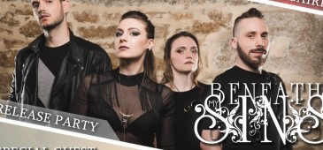 Asylum Pyre & Beneath My Sins - Release/Anniversary show - REPORTE