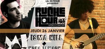 Ruche Hour - ISMA HILL + KORA Jamson