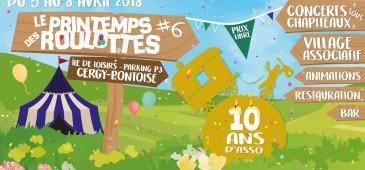 Le Printemps des Roulottes #6 : Pépin et ses Pommettes + Vidabreve + The Jamwalkers + Boa Brass Band