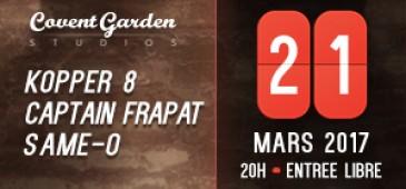 KOPPER8 + CAPTAIN FRAPAT + SAME-O