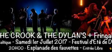 The Crook and the Dylan's + Fringale - Festival de l'Été - Domont