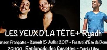 Les Yeux D'la Tête + Ryadh - Festival de l'Été - Domont