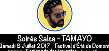 Soiré SALSA - Tamayo + Initiation à la danse - Festival de l'Été - Domont