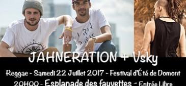 Jahneration + Vsky - Festival de l'Été - Domont